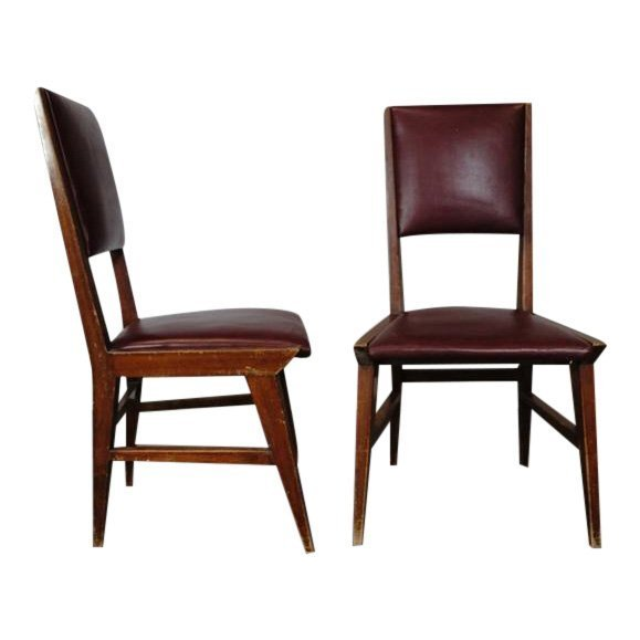 2 Italian Vintage Side Chairs