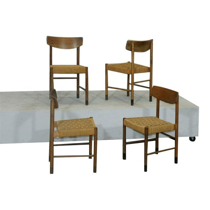 4 Mid Century Chairs