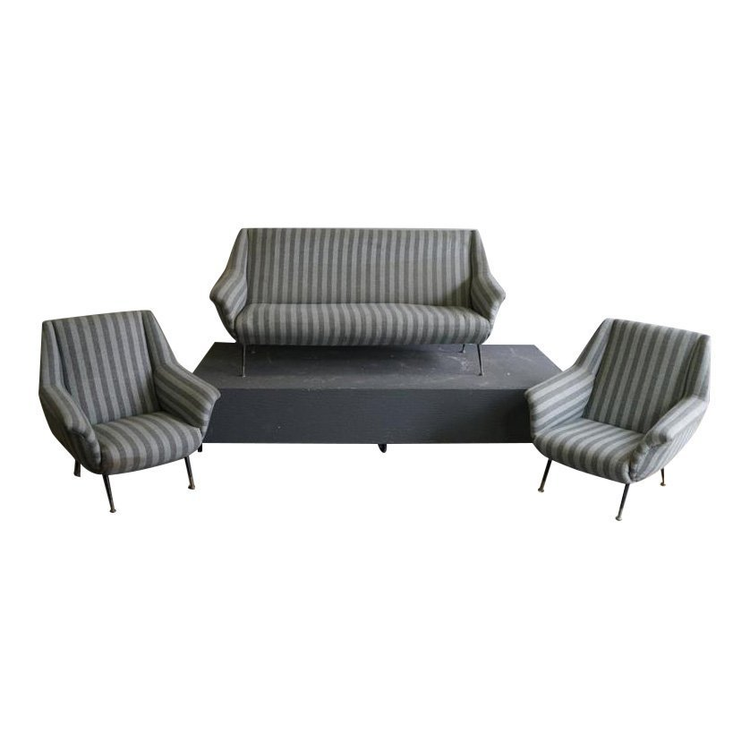 Vintage Sofa and Chairs Set