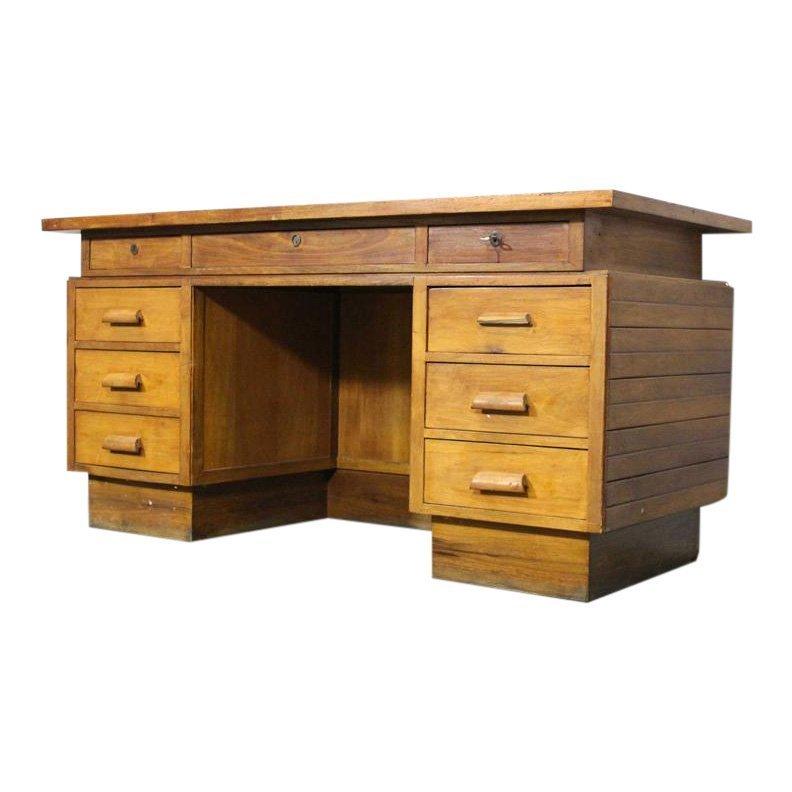 Desk by Giovanni Michelucci