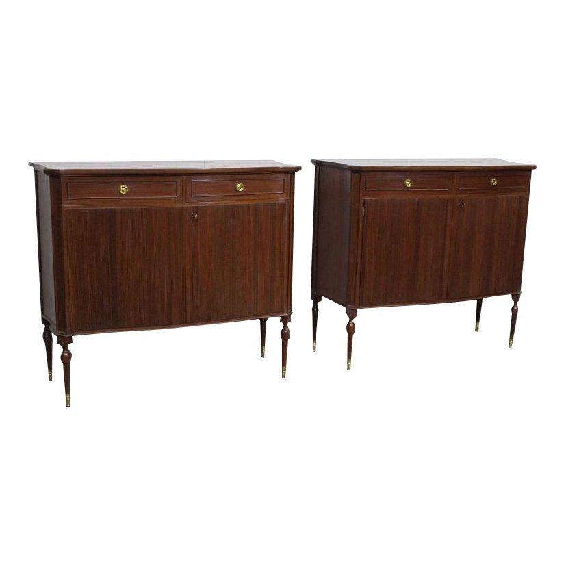 2 Vintage Paolo Buffa Cabinets