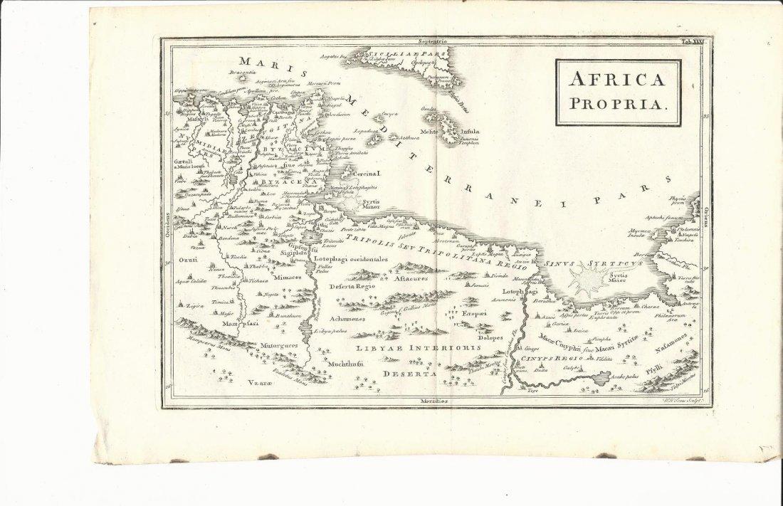 1796 Map Africa Propria