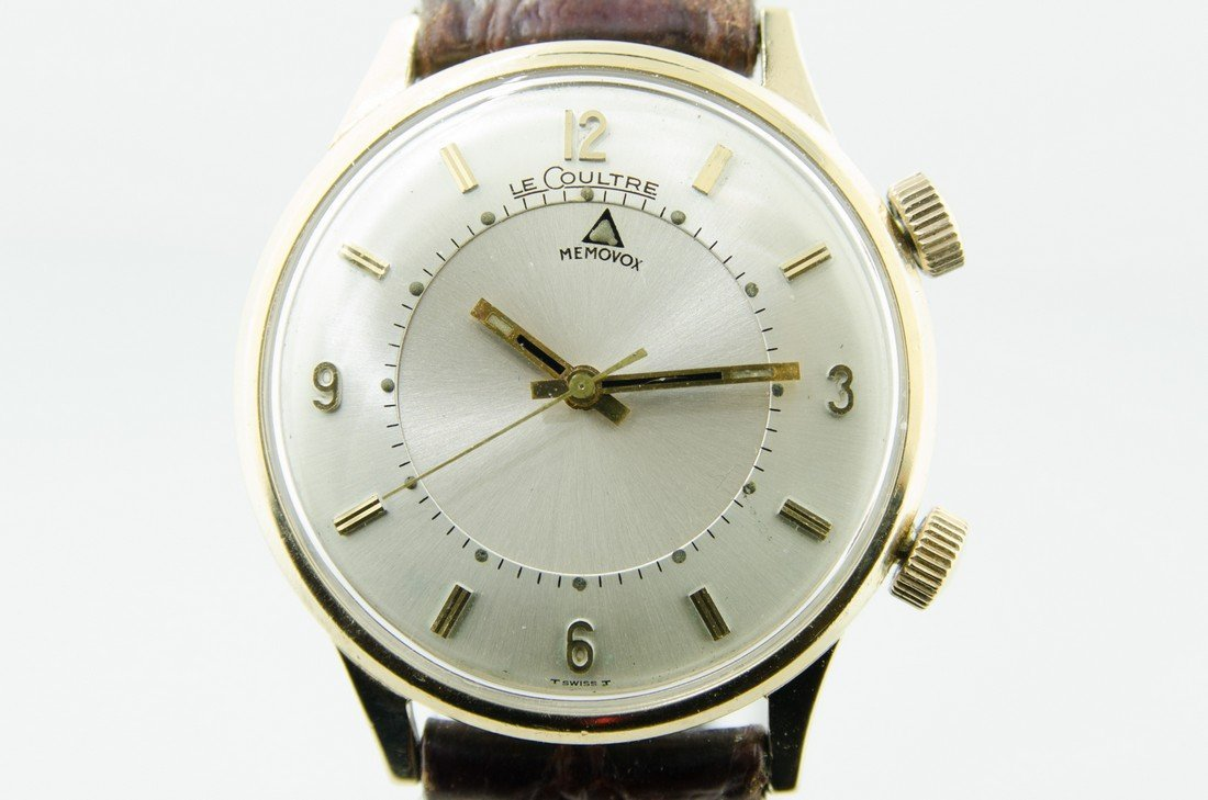Le Coultre Memovox Alarm Watch