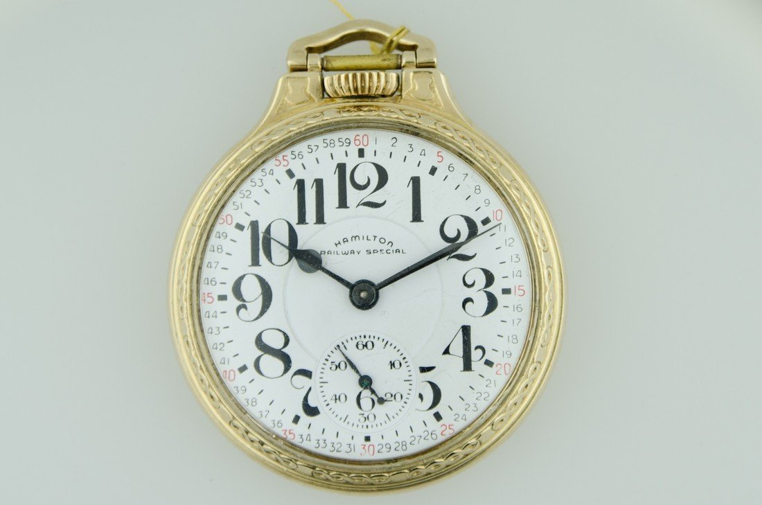 Hamilton Railroad Pocketwatch