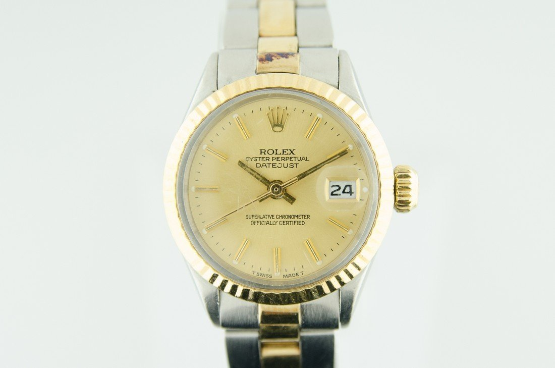 Ladies Steel & Gold Datejust Watch