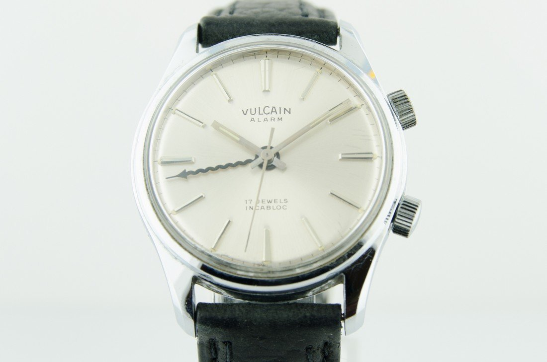 Mens Vulcain Alarm Watch