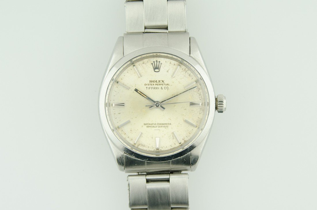 Mens Tiffany & Co Stainless Rolex