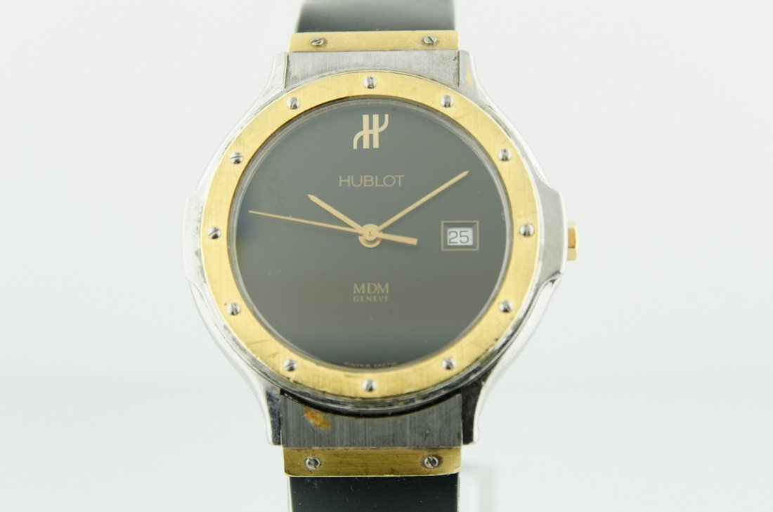 Hublot 18K Gold & Steel Watch