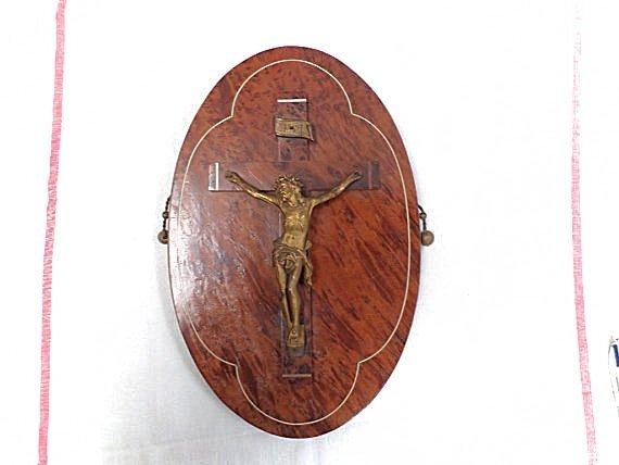 French Antique Crucifix