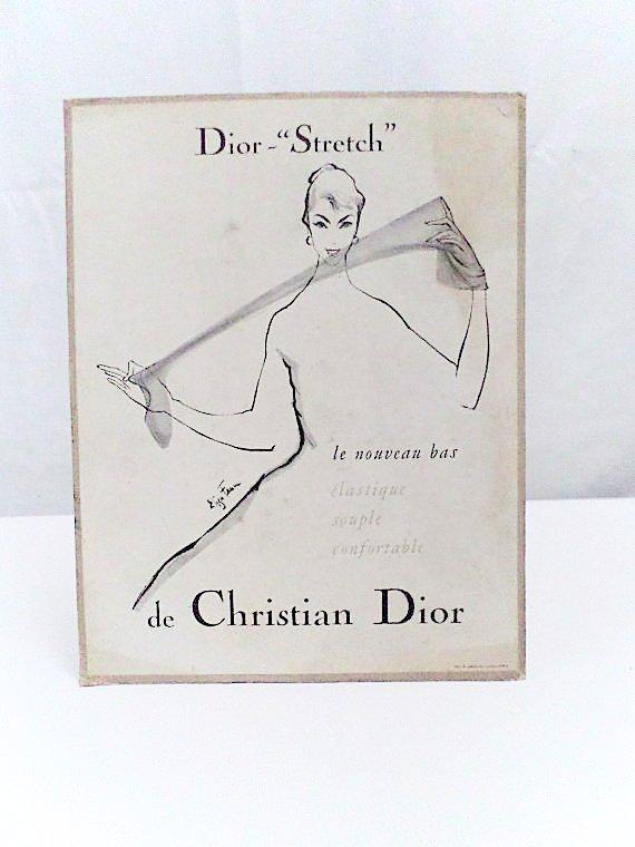 Dior Vintage Advertising POP Display