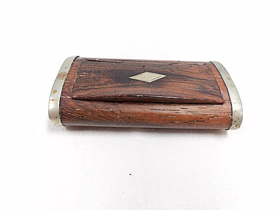 French Antique rosewood Snuffbox