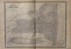 Map of New York & Long Island, 1868