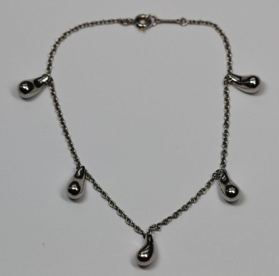 Platinum Tiffany & Co. Elsa Peretti Teardrop Bracelet