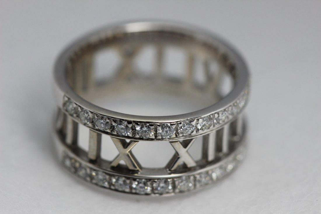 Tiffany & Co. Diamond 2003 Atlas Engagement Ring 18kt