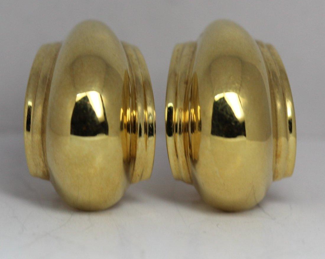 18kt Yellow Gold Tiffany & Co. Earrings