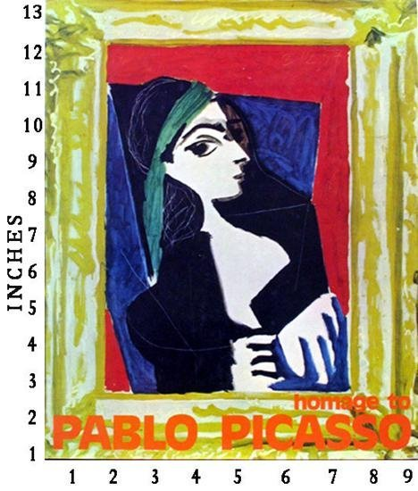 Dealer Art Book  - Homage to Picasso c.1971