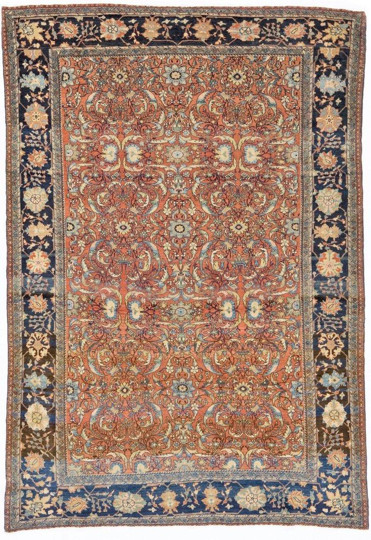 Antique Persian Sarouk Farahan