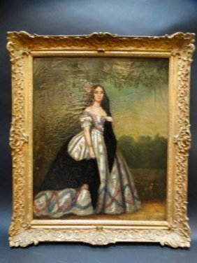 Alexander Melville Portrait Of A Mexican Lady C 1865