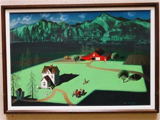 Irv Wyner: Farmhouse and Barn