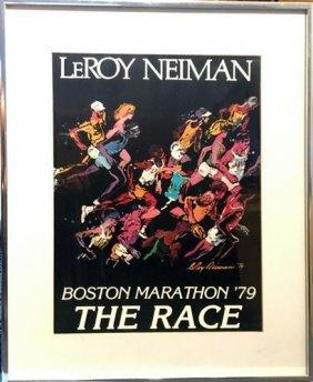 Leroy Neiman Color Offset Lithograph
