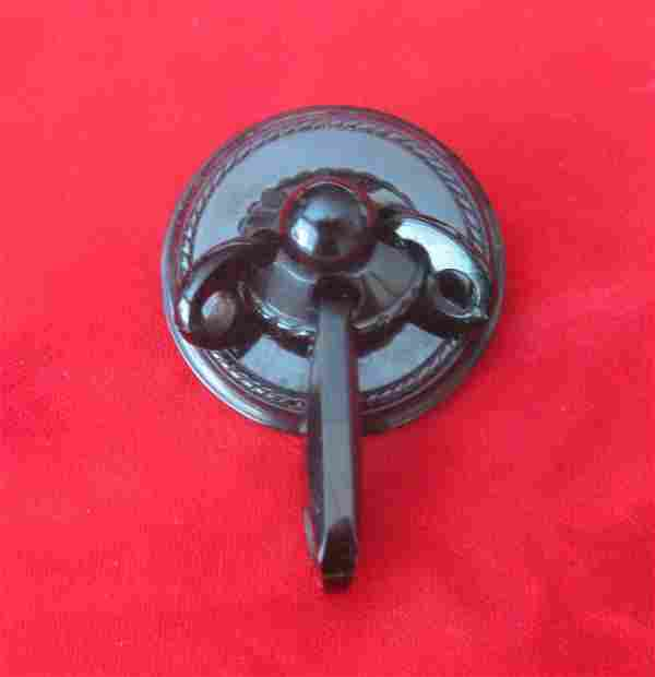 Victorian Whitby Jet Brooch