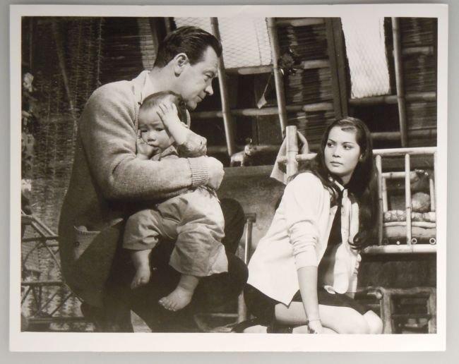 Vintage ABC Publicity Photo WILLIAM HOLDEN NANCY KWAN