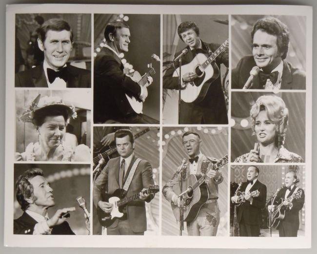 Vintage ABC Publicity Photo JOHNNY CASH PRESENTS