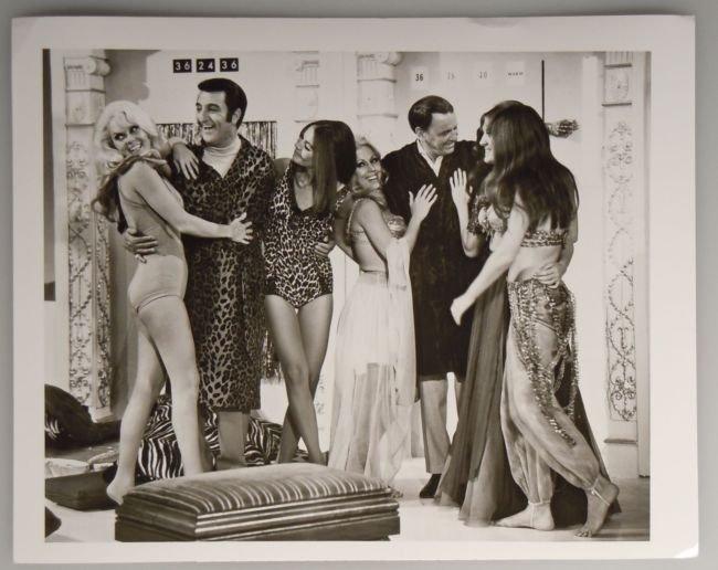 Vintage ABC Publicity Photo DANNY THOMAS FRANK SINATRA