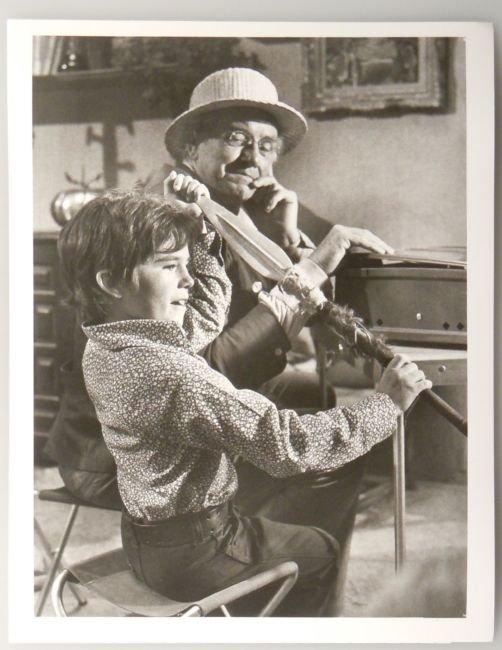 Vintage ABC Publicity Photo WILL GEER BRANDON CRUZ