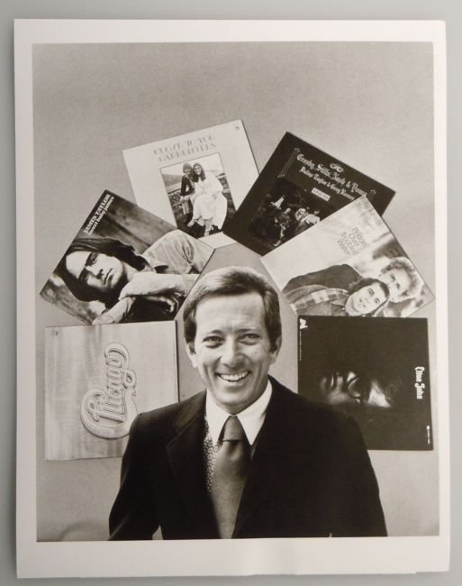 Vintage ABC Publicity Photo ANDY WILLIAMS