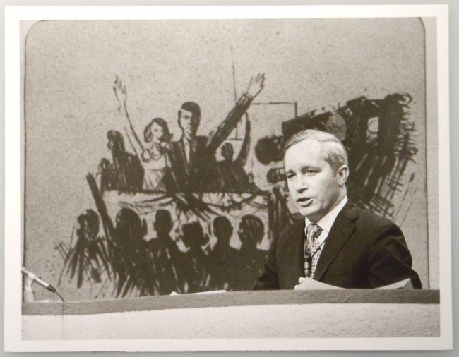 Vintage ABC Publicity Photo FRANK REYNOLDS