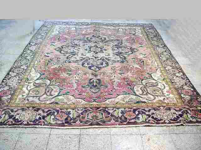 9x12 Persian Heriz Rug Hand knotted oriental rugs