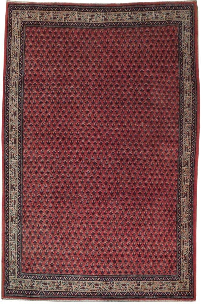 5X7 Persian Mir Rug Hand Knotted Oriental Area Rugs