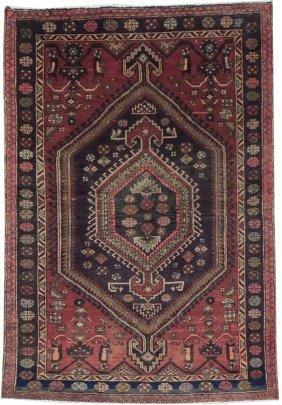 4x6 Persian Hamadan Rug Handmade Cheap Oriental Rugs