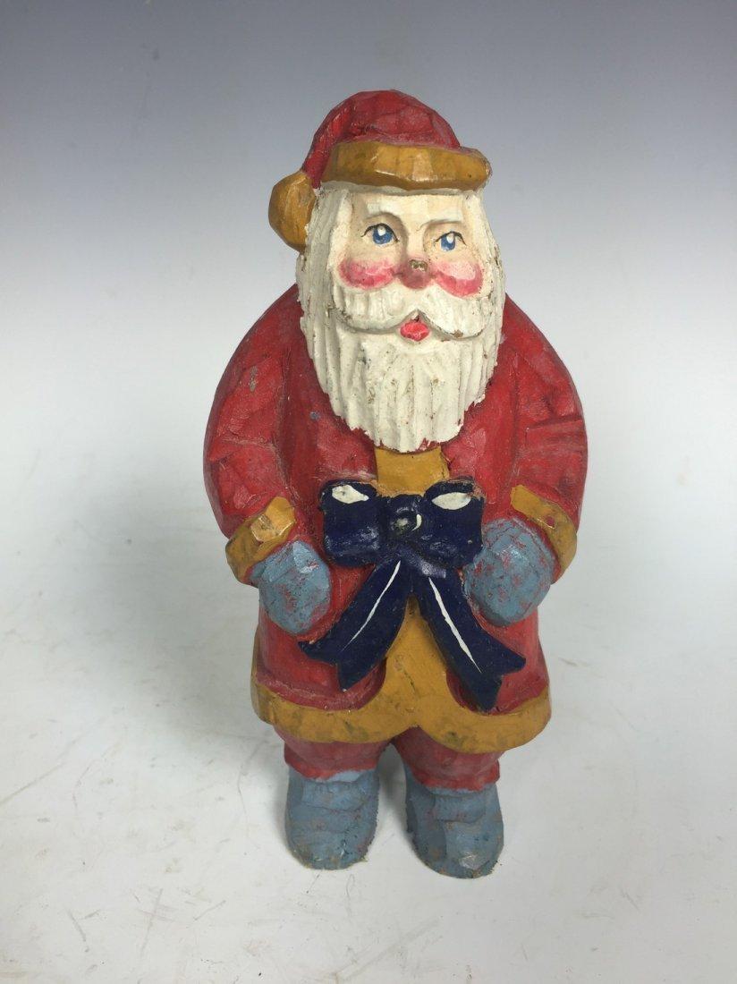 Painted Santa Claus
