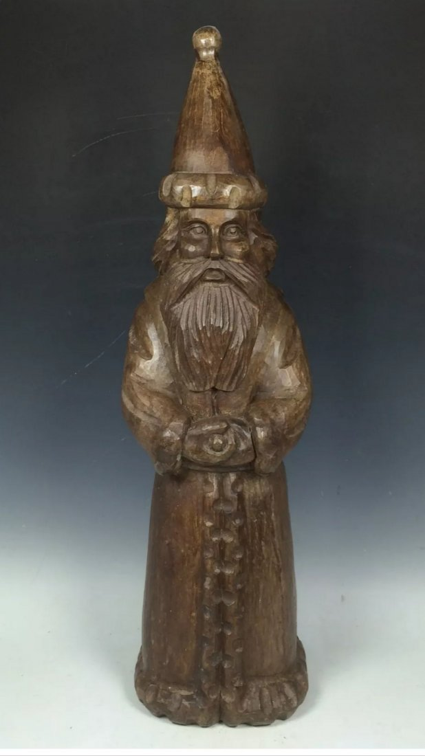 Standing Papermache Mold Santa Claus