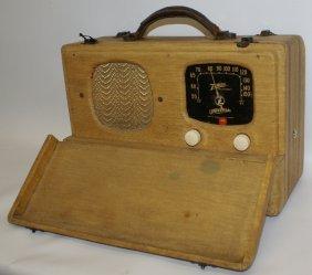Vintage 1941 Mid-century Zenith Universal Wavemagnet