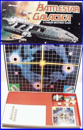 Vintage 1978 Battlestar Galactica Sci Fi Series Board