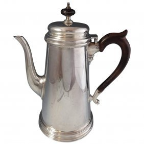 James Robinson Sterling Silver Coffee Pot #41