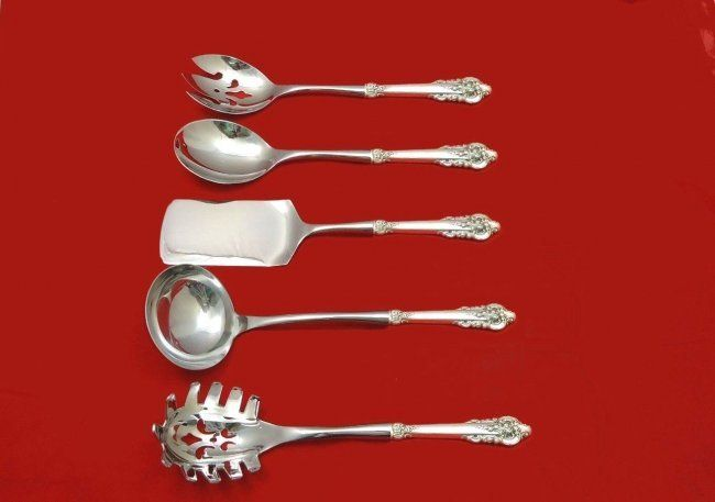 Grande Baroque by Wallace sterling hostess set