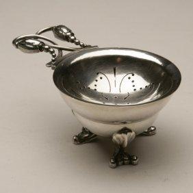 Georg Jensen Sterling Silver Blossom Tea Strainer No.