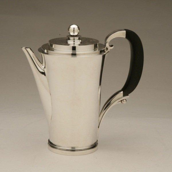 "Georg Jensen Sterling Silver ""Pyramid"" Coffee Pot No."