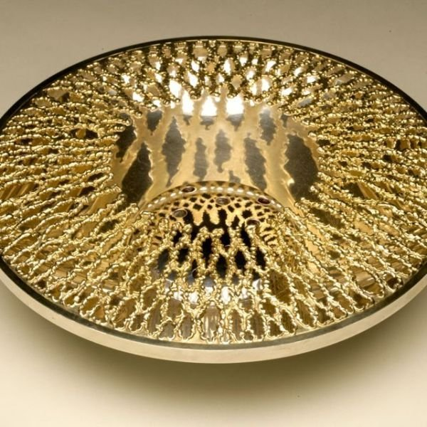 Stuart Devlin Sterling Silver and 24KT Vermeil