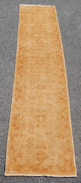 Beautiful Sand Toned Peshawar Chobi Runner