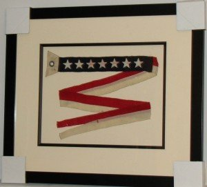 7 Star US Navy Ship Commissioning Pennant