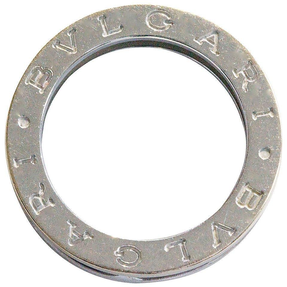Bvlgari: 18K White Gold Ring