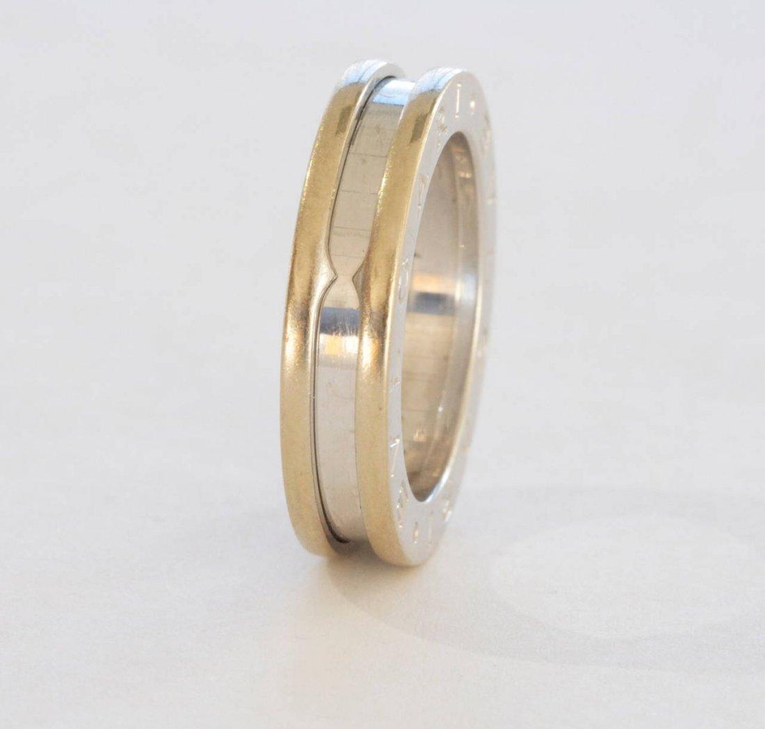 Bvlgari: 18K White Gold Ring - 2