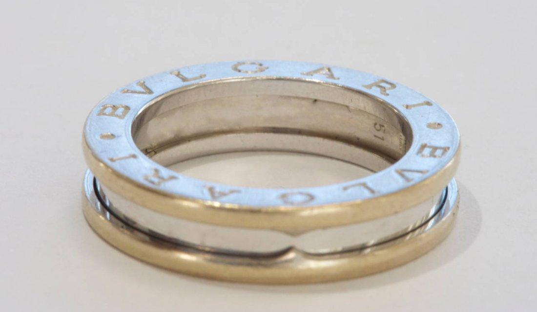 Bvlgari: 18K White Gold Ring - 3