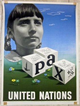 United Nations 1948 Un Poster- Best International