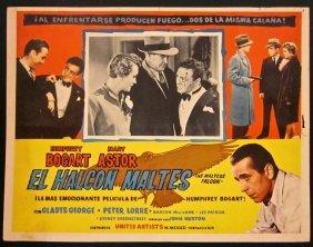 Maltese Falcon - R60's Mexican Lobby Card Set Bogart